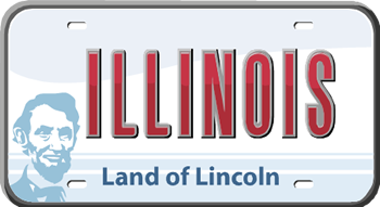 illinois license plate display requirement