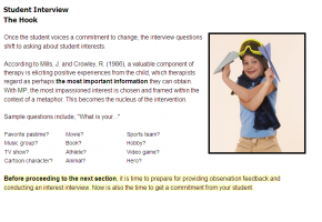Sample from RTI: Using Metaphors to Change Behavior course #4