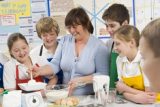 Cooking Activity in the Classroom