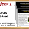Teacher Resources, Tools & Giveaways for the week (July 12 – 19, 2014)