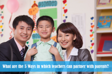 What are the 5 Ways in which teachers can partner with parents?