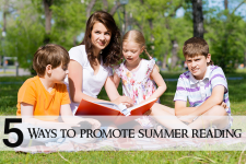 5 Ways To Promote Summer Reading