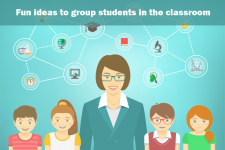 How Do Teachers Divide Students Into Groups For Collaborative Activities?