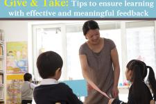 How Can Teachers Make Their Feedback Meaningful?