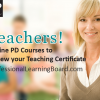 PD Courses at Professional Learning Board