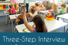 The Three-Step Interview Learning Strategy in the Classroom
