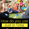 What is the Just in Time Teaching Strategy?
