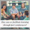 Encouraging Learning Through Peer Conferences