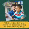 Setting Boundaries for Teacher- Student Online Communication