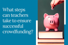 5 Crowdfunding Tips for Teachers