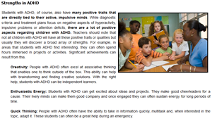 Tips For Recognizing Learning Disorders >> Understanding ADHD : Professional Learning Board