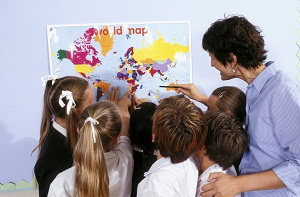Deciding themes for bulletin boards is a crucial step while using these aids.