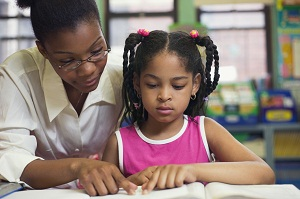 Paired reading helps the child build confidence and efficiency in his or her reading ability.