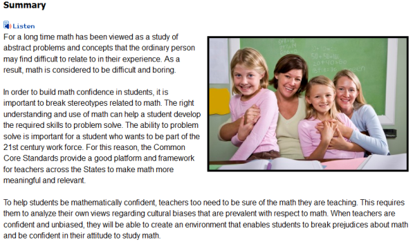 <br /><br /> Common Core Mathematics for All Teachers