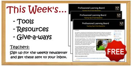 Teacher Resources, Tools & Giveaways