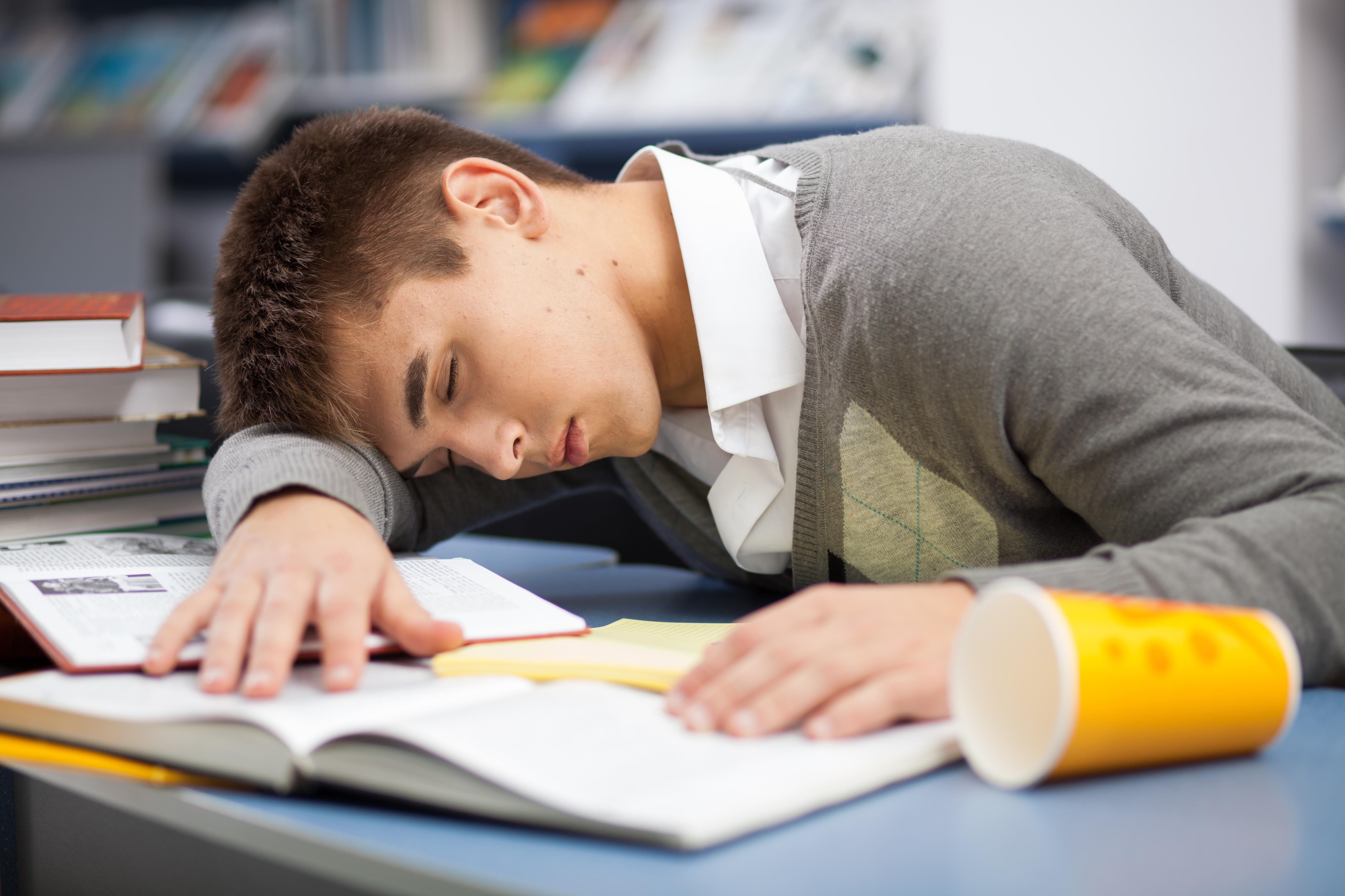 Teen Handle Stress Do Sleep 3