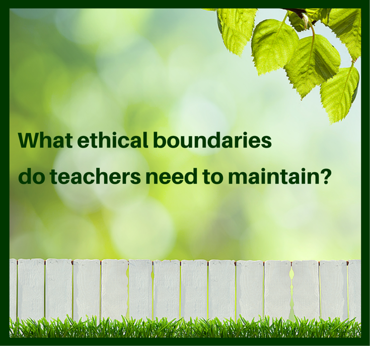 explain the boundaries between the teaching Professional boundaries and points of referral (21, 22, 23) what are the professional boundaries of the teaching role discuss occasions when the teacher might need to refer a student to another professional.