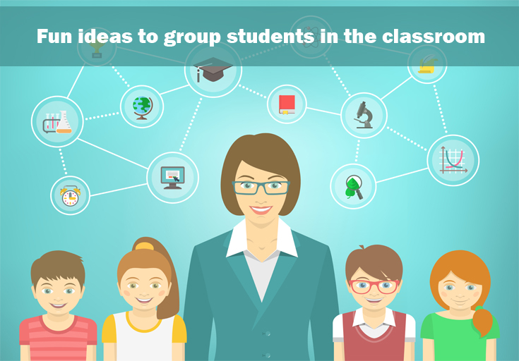 Collaborative Approach Classroom ~ How do teachers divide students into groups for