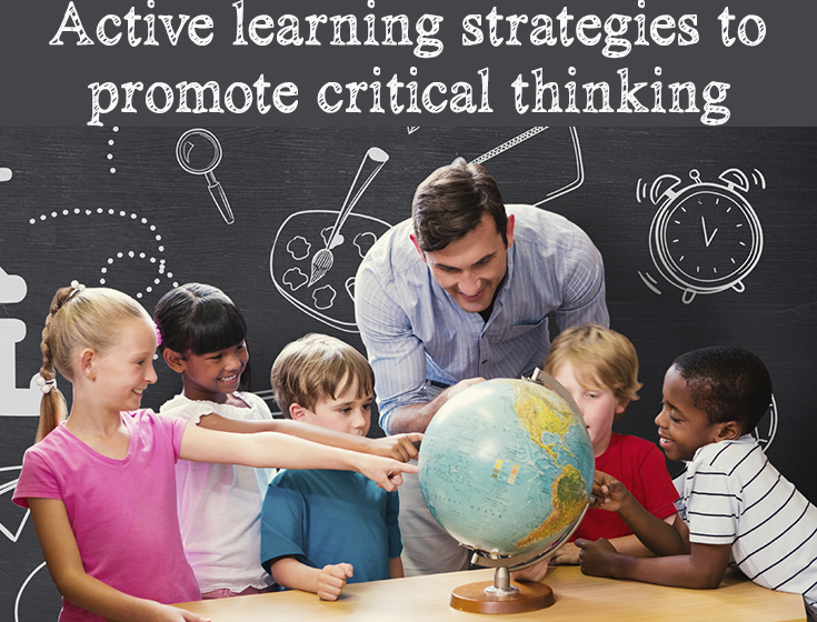 "encourage critical thinking Critical thinking is a critical skill for young workers these days he adds ""we do encourage our junior people to recommend changes."