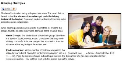 Classroom Collaboration