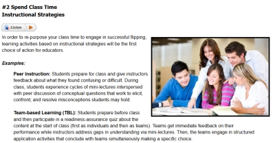 Flipping Classrooms