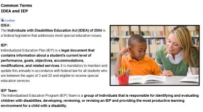 IEPs: Documentation and Implementation for Teachers