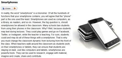 Introduction to Technology for Teachers Sample #1
