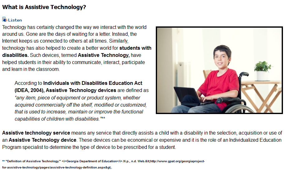 Assistive Communication for Every Classroom