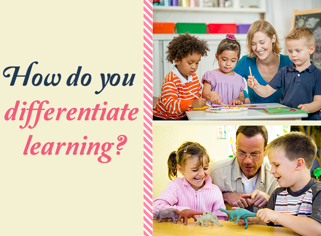 How do you differentiate learning?