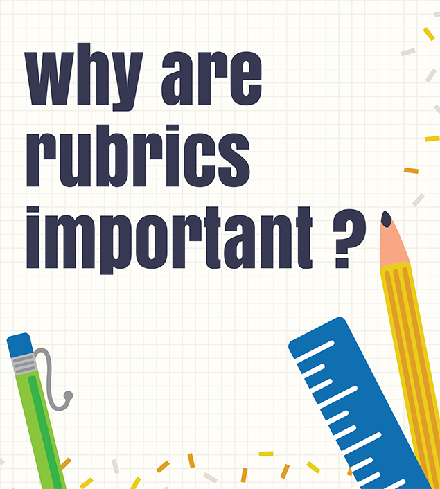 Why are rubrics important?