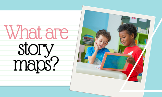What are story maps?