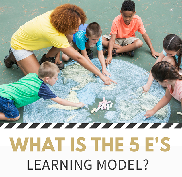 What is the 5 E's learning model?
