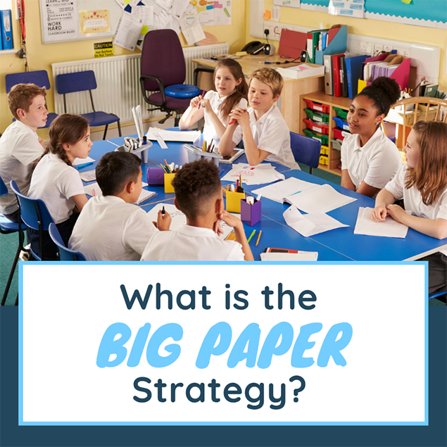 What is the big paper strategy?